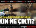 Trafodaki Arıza Buldan'da 6 Mahalleyi Susuz Bıraktı