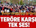 Buldan'da Protesto Gösterisi