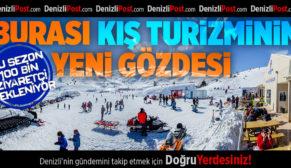Burası Denizli'de Kış Turizminin Yeni Gözdesi