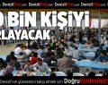 Büyükşehir iftar çadırı binleri ağırlıyor