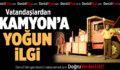 Büyükşehir'in 'Kamyon'una Vatandaşlar Yoğun İlgi Gösterdi