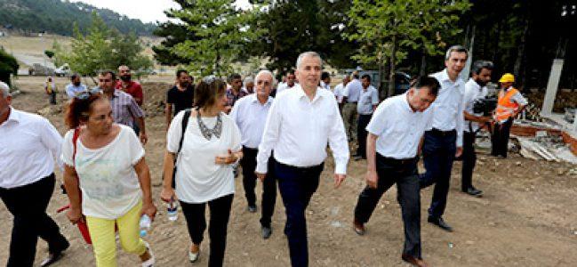 Kefe Yaylası'na Büyükşehir Eli Değiyor