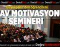 Büyükşehir'den sınav motivasyonu semineri
