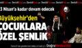 Büyükşehir'den çocuklara özel Tiyatro Şenliği