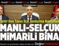 Büyükşehir'den jandarmaya yeni karargah, Tavas'a meydan