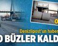Bakırlı'daki Dev Büzler Kaldırıldı