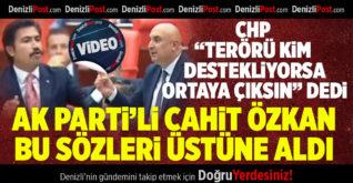 """CHP """"terörü kim destekliyorsa ortaya çıksın"""" AK Parti'li Özkan üstüne alındı"""