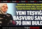 BAKAN SELÇUK DENİZLİ'DE İSTİHDAM SEFERBERLİĞİ TOPLANTISINA KATILDI