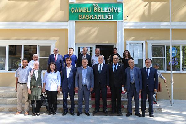"""cameli buyuksehiryatriimlari 1 - Başkan Osman Zolan: """"Burası turizm merkezi olacak"""""""