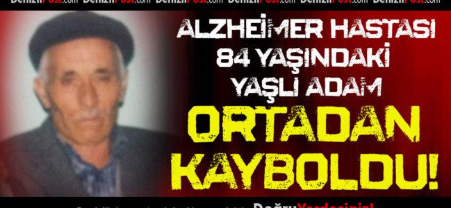 Alzheimer Hastası Yaşlı Adam Ortadan Kayboldu!