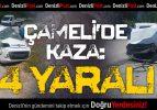 Çameli'de Kaza: 4 Yaralı