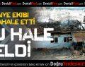 Çameli'de ev yangını