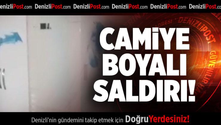CAMİYE  BOYALI SALDIRI