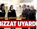 Çardak Havaalanı'nda Güvenlik Zirvesi