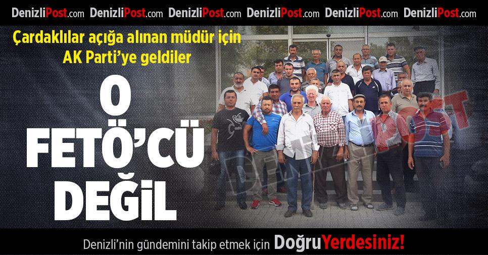 "AK Parti İl Başkanlığı'na Gelip, ""İade edin"" Ricasında Bulundular"