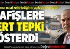 CHP'li Demirci, Binaya Asılan O Afişlere Tepki Gösterdi