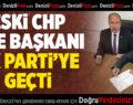 Eski CHP İlçe Başkanı Ak Parti'ye Geçti