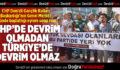CHP Denizli Gençlik Kolları Başkanlığı Genel Merkez Önündeki Eylemini Sona Erdirdi