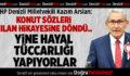 CHP'li Arslan: İktidar Yine Hayal Tüccarlığı Yapıyor