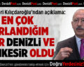 Kılıçdaroğlu: En Çok Denizli ve Balıkesir'de Zorlandım