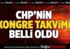 CHP'nin Kongre Tavkimi Açıklandı