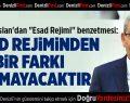 "CHP'li Arslan'dan ""Esad Rejimi"" benzetmesi"