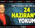 CHP Denizli Milletvekili Melike Basmacı'dan Şok Açıklama