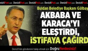 CHP'li Buldan Belediye Başkanı'ndan parti yöneticilerine tepki