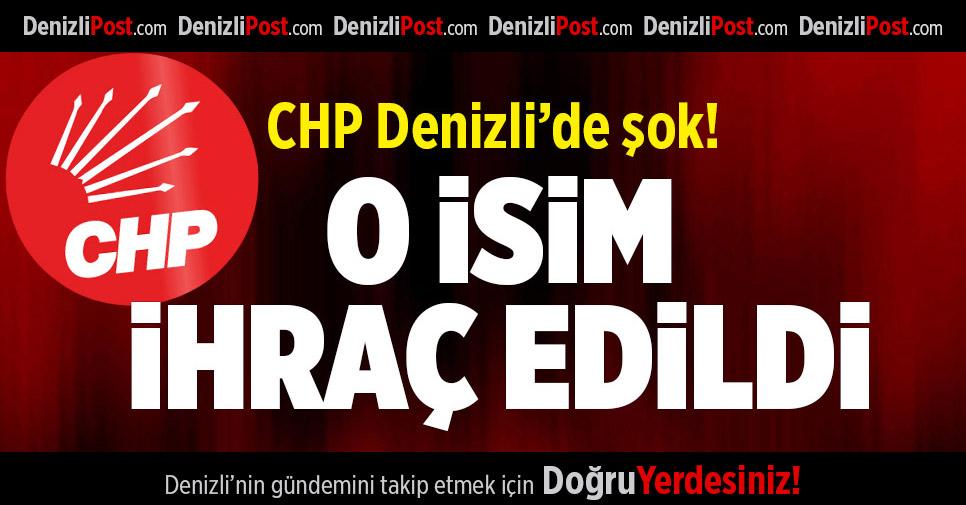 CHP'li Çapar ihraç edildi