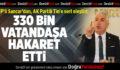 CHP'li Sancar, AK Partili Tin'i eleştirdi