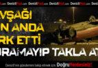 Çivril'de Otomobil Takla Attı: 1 Yaralı
