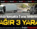 Çivril'de Feci Kaza: 1'i Ağır 3 Yaralı