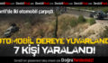 Çivril'de Kaza: 7 Yaralı