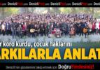 Veliler Koro Kurdu, Çocuk Haklarını Şarkılarla Anlattı