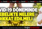 COVİD-19 DÖNEMİNDE GEBELİKTE NELERE DİKKAT ETMELİ