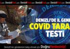 DENİZLİ'DE İL GENELİ COVİD TARAMA TESTİ