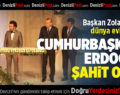 Cumhurbaşkanı Erdoğan, Başkan Zolan'ın Kızının Nikahına Şahitlik Etti