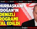 Cumhurbaşkanı Erdoğan'ın Denizli Programı İptal Oldu