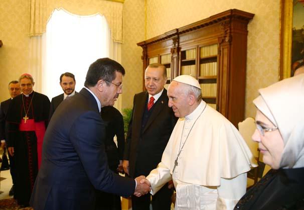 cumhurbaskani erdogan vatikan da 10764623 - BUONGİORNO PAPA
