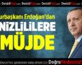 Cumhurbaşkanı Erdoğan'dan Denizlililere 2 Müjde