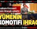 DENİB Başkanı Kocasert, Öğrencilere İhracatı Anlattı
