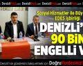 Sosyal Hizmetler ile Büyükşehir'in EDES işbirliği