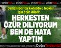 Denizlispor'da Kehinde özür diledi