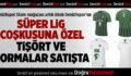 Denizlispor Store mağazası artık Abalı Denizlispor'un