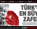 DENİZLİ PROTOKOLÜNDEN 30 AĞUSTOS ZAFER BAYRAMI KUTLAMA MESAJLARI