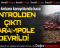 Denizli-Ankara Karayolunda Kaza