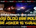 Denizli-Antalya Karayolu'nda 3 Ayrı Kaza: 1 Ölü 16 Yaralı