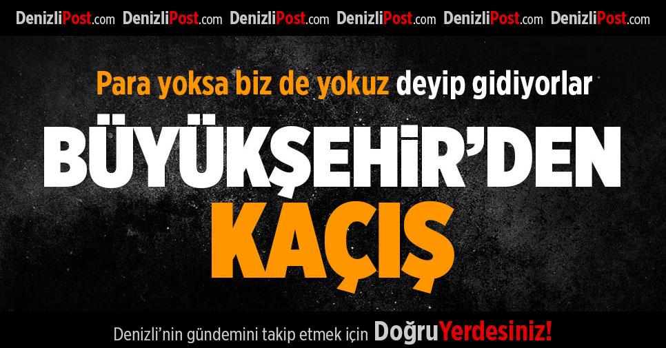 Denizli Büyükşehir Belediyespor'da 14 futbolcu ayrıldı