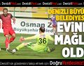 Denizli Büyükşehir Belediyespor-Düzyurtspor: 0-1