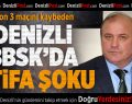 Denizli Büyükşehir Belediyespor'da istifa şoku